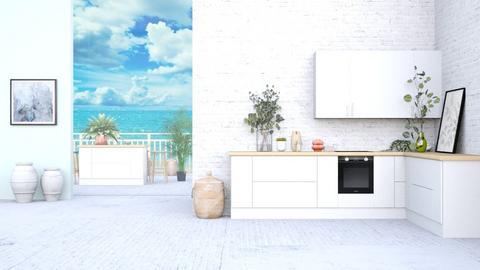 White kitchen - Kitchen  - by iope