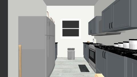 Final Project Kitchen - Kitchen - by Katharine Ringo