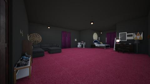 kacie room - Bedroom - by Kaylee Willis