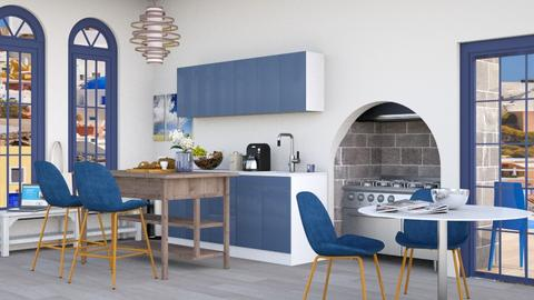 Modern Greek Dining - Kitchen  - by gumball13