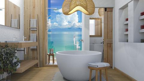 Island Vibes - Bathroom  - by KC Pechangco