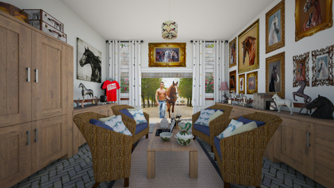 TBourbon - Country - Living room  - by Joao M Palla