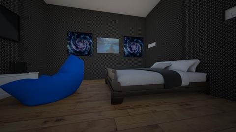 David salongo - Bedroom  - by David salongo