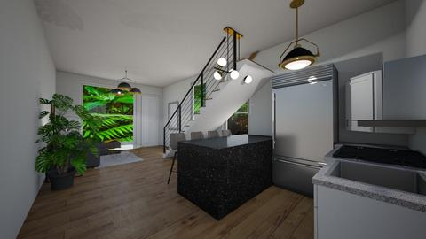 Loft Cerv - Living room  - by Luis Cerv