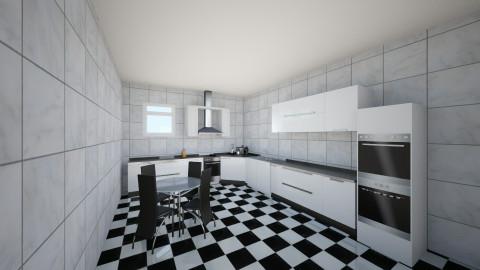 kitchen 4 - Rustic - Kitchen  - by Ionut Corbu