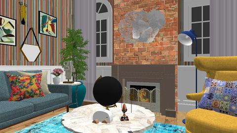 Maximalist Livingroom - Living room - by Faiths441