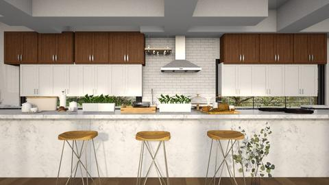Clarity - Minimal - Kitchen  - by LuluDesignStyle