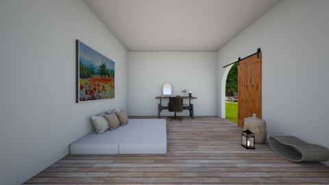 poppy bedroom - Bedroom  - by dia17a