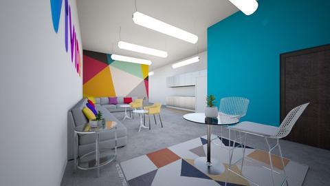 Vividly Break Room - Office  - by hummingbirdstaging