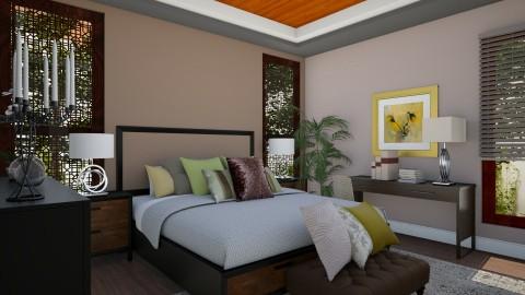 Masterbedroom V4 - Vintage - Bedroom  - by Ejad Shukri