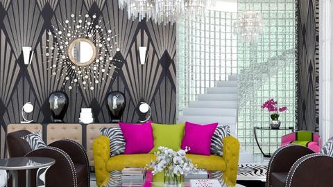 Art Deco Living 2 - Living room  - by jjp513
