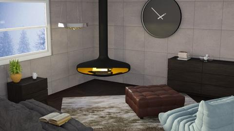 _Remix_ - Modern - Living room  - by designkitty31