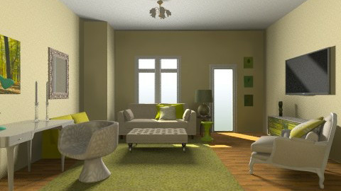 lime living - Living room - by zaya6