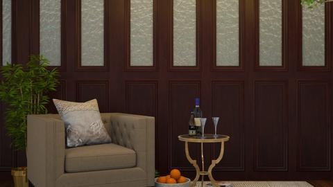 H o m e  i s - Modern - Living room  - by MB2006