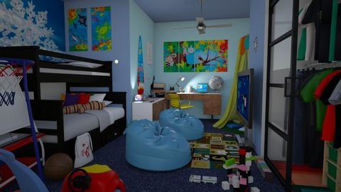 boys room - Kids room  - by snjeskasmjeska