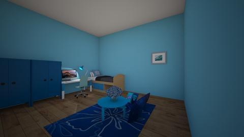 kamar anak laki laki - Bedroom  - by firdaus123