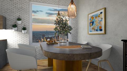 studio in the city  - Modern - Dining room  - by moommusr