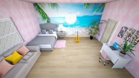 Modern Teens Room - Bedroom  - by kamonela09