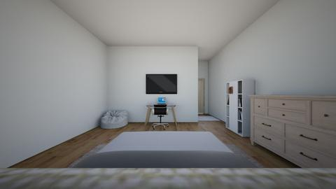 My room - Modern - Bedroom  - by KanishkNothing