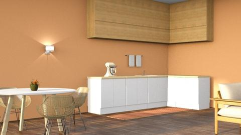Autumn kitchen 2 - Minimal - Kitchen  - by l i a