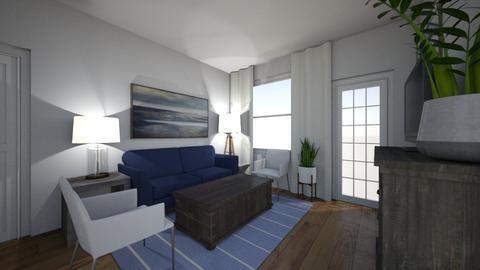 Moss Grove Apt - Living room  - by kvenable