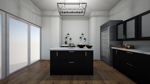 small kitchen - Kitchen  - by julietteandres