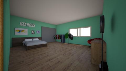 mi habitacion - Modern - Bedroom  - by huevofrito