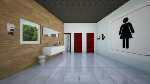 Public Girls bathroom  - Glamour - Bathroom  - by Taxi girl