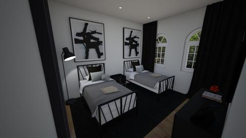 bedroom - Modern - Bedroom - by chicken1234