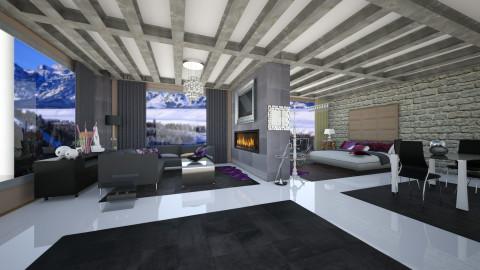 winter mood - Living room - by Chrysa Karatzia