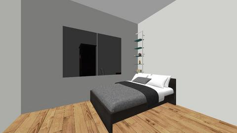Ilya bedroom - Bedroom  - by zarinabox