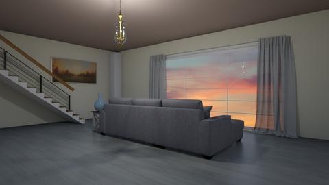 Luxury Living Room - Living room  - by Mxtcha_fox