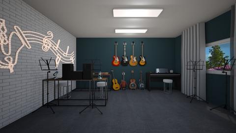 Music room - by Noa Jones