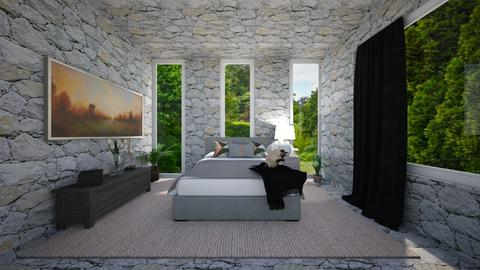 The stone bedroom - by IESdesign