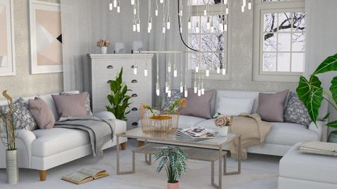 Shabby Chique - Classic - Living room  - by millerfam