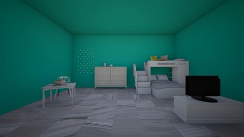 my dream bedroom  - Modern - Bedroom  - by AATHEDANCER