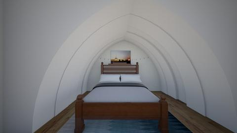 bedroom under arch - by E77