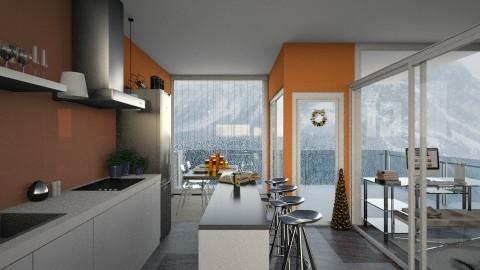 M I N X 1 - Retro - Kitchen - by hellokiwe