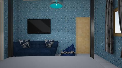 Color challenge - Classic - Bedroom  - by Kellybotello
