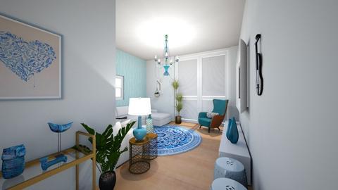 SALA AZUL - Living room - by Yedda