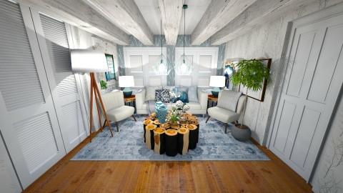 salotto 5 - Rustic - Living room  - by pietrosavaro300
