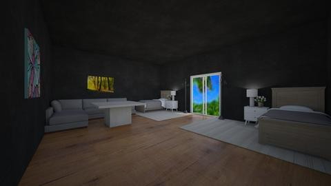 Vacation Bedroom - Modern - Bedroom  - by Tokoyami