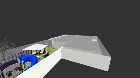 Planta de uma casa CNC - Modern - Living room  - by Iagox