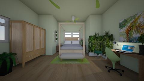 Nature room in progress - Bedroom  - by Ariella_