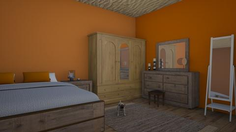 BEDROOM FOR VINTAGE PPL - Retro - Bedroom  - by mariamimariamoi