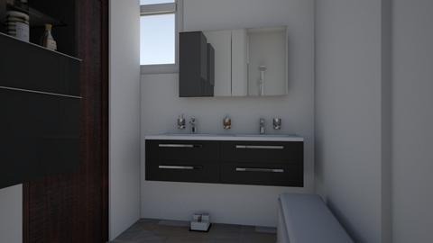 Badkamer 1 - Bathroom  - by SaraDinkje