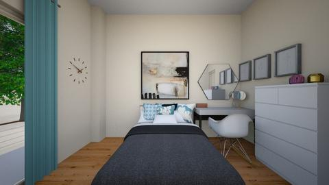 My bedroom - Minimal - Bedroom  - by Hrwww