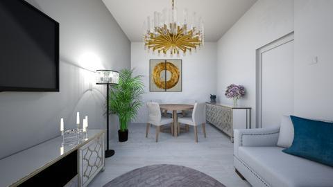 Casa lui Ida - Living room - by predacamelia