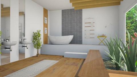 Peace - Modern - Bathroom  - by taylorashton