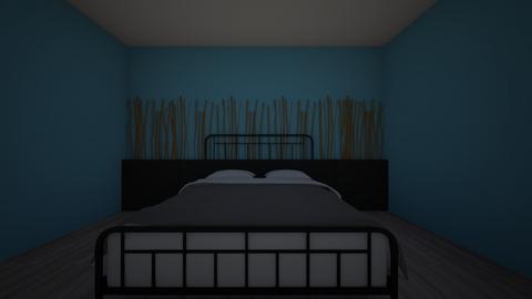bamboo bedroom - Bedroom  - by olsenhannek
